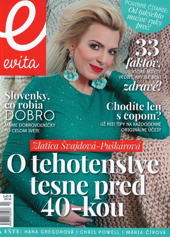 Kniha: Evita magazín 04/2017autor neuvedený