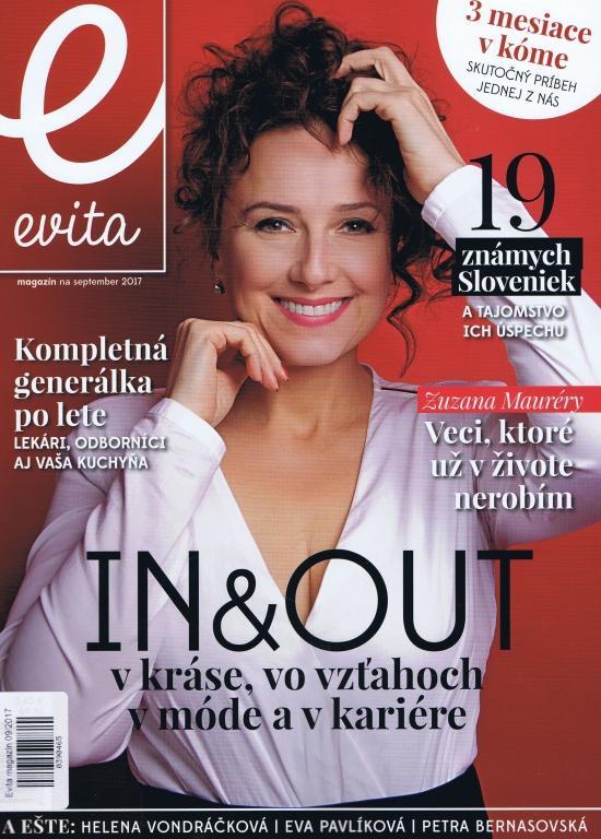 Kniha: Evita magazín 09/2017autor neuvedený