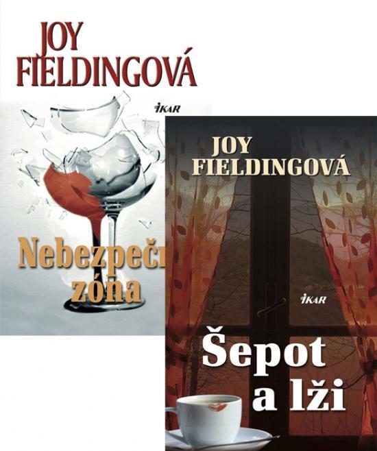 Kniha: Šepot a lži, 2.vydanie + Nebezpečná zóna KOMPLET - Fieldingová Joy