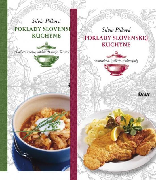 Kniha: Poklady slovenskej kuchyne 1.-2. KOMPLET - Pilková Silvia
