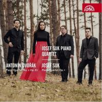Antonín Dvořák, Josef Suk - Klavírní kvartety - CD
