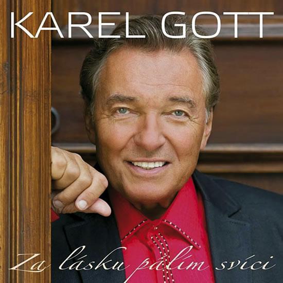 Kniha: Za lásku pálím svíci - 2CD - Gott Karel