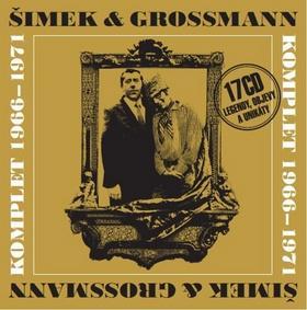 Kniha: Šimek a Grossmann- komplet 1966-71 -17CD - Miloslav Šimek; Jiří Grossmann