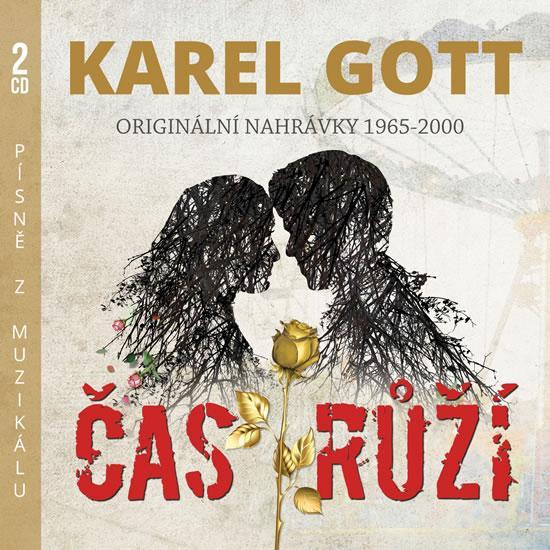Kniha: Čas růží - Originální nahrávky 1965-1992 - 2 CD - Gott Karel