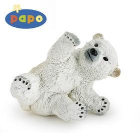 Kniha: Medvěd lední mládě hrajícíautor neuvedený