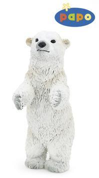Kniha: Medvěd lední mládě stojícíautor neuvedený