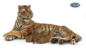 Kniha: Ležící tygřice + 3 mláďataautor neuvedený