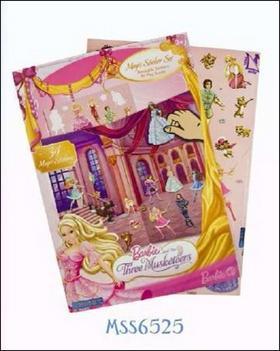 Kniha: Alba Barbie Tři mušketýrkyautor neuvedený