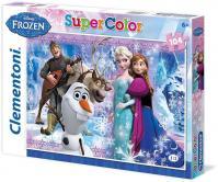 Puzzle Ledové království Supercolor - 104 dílků/Frozen
