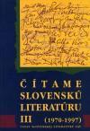 Čítame slovenskú literatúru III