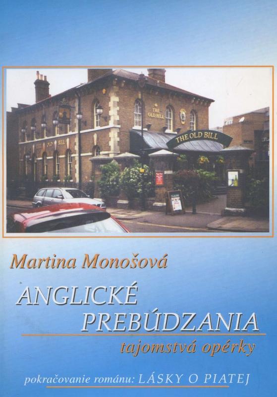 Kniha: Anglické prebúdzania - Martina Monošová