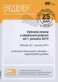 PMPP 4-5/2015 Vybrané zmeny v zdaňovaní príjmov od 1.januára 2015