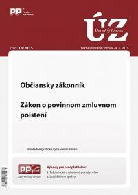 UZZ 16/2015 Občiansky zákonník