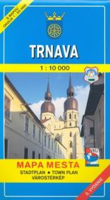 Mapa mesta Trnava