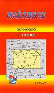 Kniha: AM Maďarsko 1:1 000 000kolektív autorov