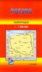 Poľsko automapa 1:1 000 000 1.vydanie