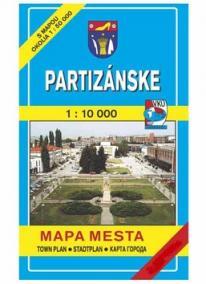 MM Partizánske 1:10 000