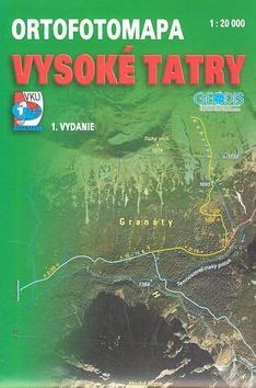 Vysoké Tatry ortofotomapa