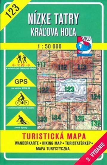 Nízké Tatry 1:50000