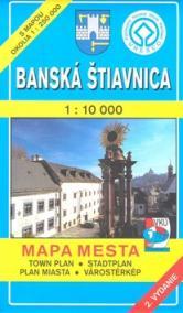 Mapa mesta Banská Štiavnica