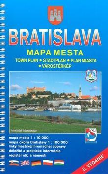 Kniha: Bratislava-mapa mestaautor neuvedený