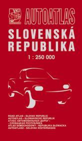 Autoatlas SR 1:250 000 1.V