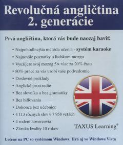 Revolučná angličtina 2. generácie TAXUS Learning
