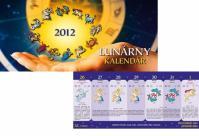 K - Lunárny kalendár - 2012 - stolový - S021