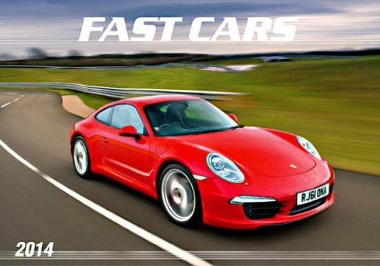 K - Fast cars -  2014 nastenný  N29