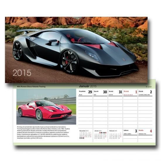 K-Autokalendár 2015 stolový S18