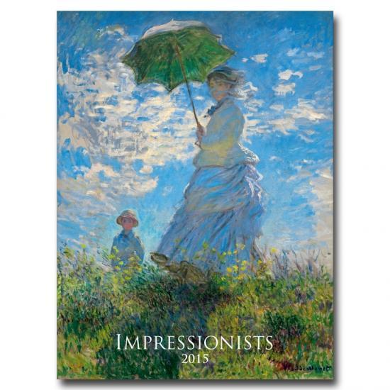 K- Impressionists 2015- nástenný- N02