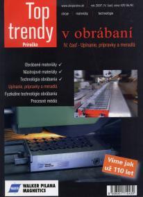Top trendy v obrábaní IV. časť - upínanie, prípravky a meradlá