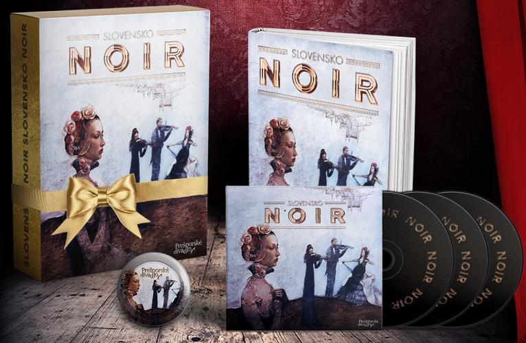 Slovensko NOIR - darčekový set (kniha+CD audiokniha+magnetka)