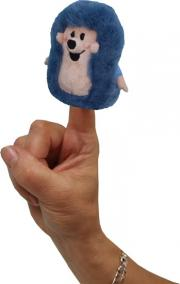 Ježek  8cm - prstový maňásek (Krtek a kamarádi)