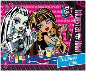 Kniha: Monster High Zkrášlovací studioautor neuvedený