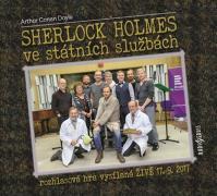 Sherlock Holmes ve státních službách - CDmp3