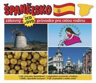 Španělsko - Zábavný průvodce pro celou rodinu - 2CD+DVD