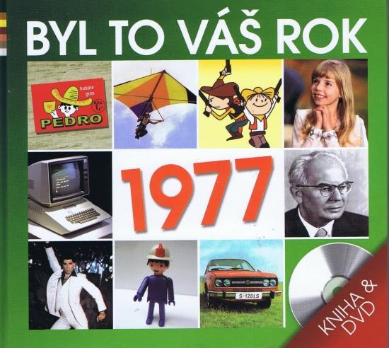 Byl to váš rok 1977 - DVD+kniha