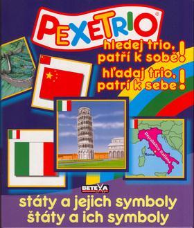 Kniha: Pexetrio-Státy a jejich symbolyautor neuvedený