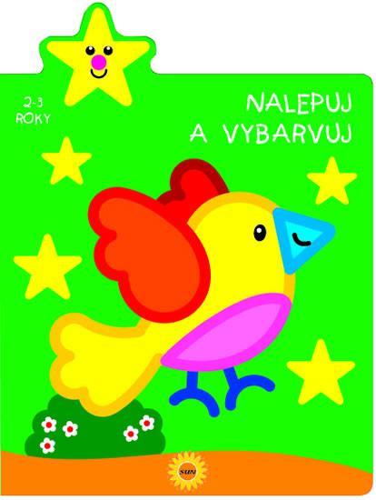 Nalepuj a vybarvuj - Ptáček