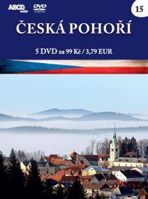 Česká pohoří - 5 DVD