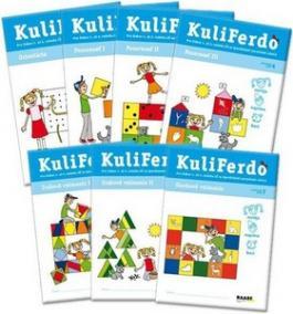 Kuliferdo - špecifické poruchy učenia 7 ks - sada