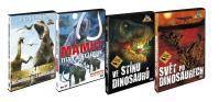 Cesta do pravěku - 4DVD (Tarbosaurus - Nejmocnější z Dinosaurů, Mamut - Titán doby ledové, Ve stínu dinosaurů a Svět po dinosaurech)