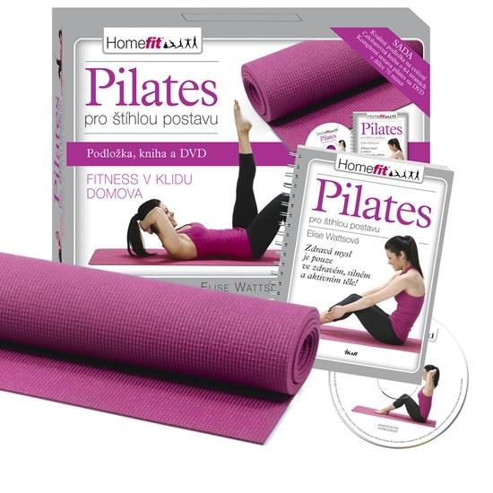 Kniha: Pilates pro štíhlou postavu – sada - Wattsová Elise