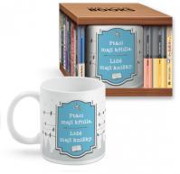 Hrnek Ptáci: We love books