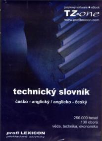 CD-ROM TECHNICKÝ SLOVNÍK česko-anglický anglicko-český, profi LEXICON