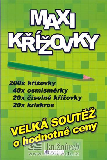 Kniha: Maxi křížovky - zelenéautor neuvedený