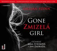 Zmizelá / Gone Girl - 2 CD (čte Jana Stryková, Jan Zadražil)