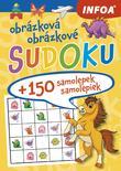 Obrázkové sudoku + 150 samolepiek ( žltý zošit )