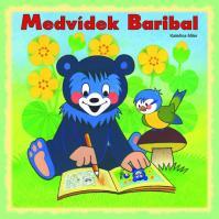 Medvídek Baribal - omalovánky čtverec